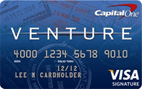 Cap One Venture Credit Card
