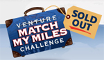 venture match my miles sold out