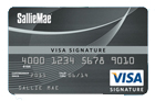 Sallie Mae Visa Signature Card