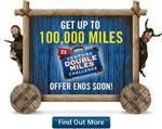 Capital One Venture Double Miles Challenge