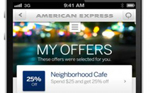 Amex iPhone App MyOffers