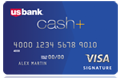 US Bank Cash+ Visa
