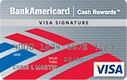BankAmericard Cash Rewards - $400 Bonus