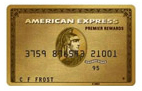 Amex Premier Rewards Gold Card - 50,000 Membership Rewards Points
