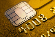 Secure Chip Credit Card