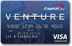 Capital One Venture Rewards Card – 50,000 Bonus Miles After spending $3,000 in 3 Months