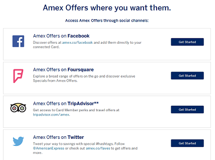 Amex Offers Social