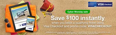 Cyber Monday Sale: Orbitz and Visa Checkout