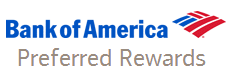Bank of America Preferred Rewards = Top Tier Credit Card Rewards for Customers with Deep BofA Ties