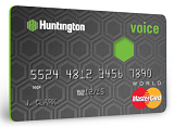 Huntington Voice Credit Card: 3% Cash Back on Category of Your Choice