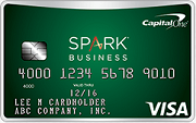 Spark Cash for Business CapitalOne