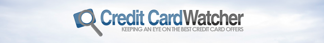 Credit Card Watcher: The Credit Card Deals Blog