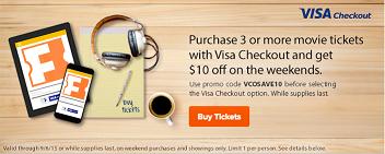 Visa Checkout / Fandango