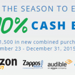 Chase Freedom: Get 10% Cash Back at Amazon, Zappos, Audible and Diapers.com