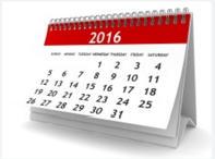 2016 Cash Back Bonus Calendar