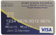 Fort Knox Visa Platinum Card