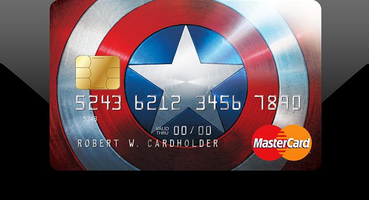 Captain America card art