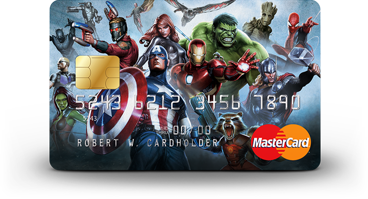 new marvel mastercard   3 cash back on dining select entertainment and marvel     credit
