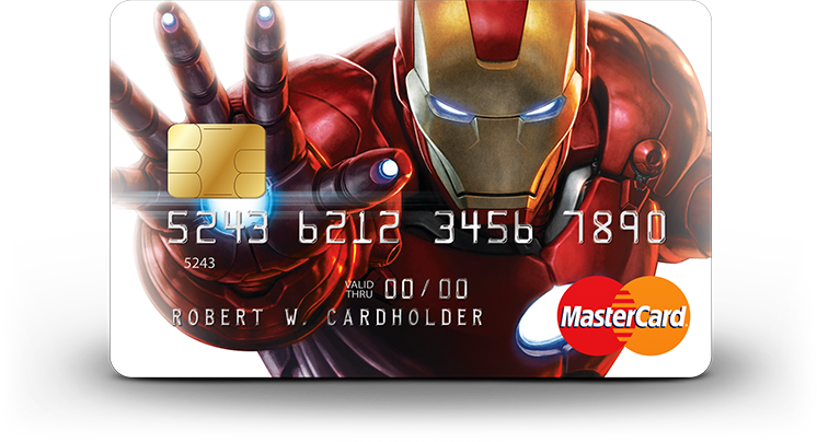 Iron Man card art