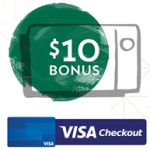 Get Free $10 Starbucks eGift Card When you Reload $10+ Using Visa Checkout on Mobile App