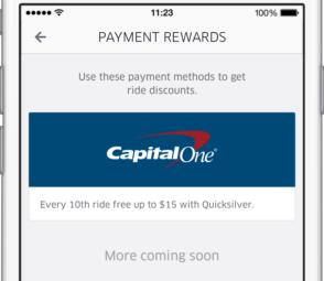 Payment Rewards
