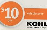 Discover Cardholders: Free $10 Kohl's Cash