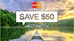 MasterCard / Expedia - Save $50