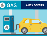 Amex Offers: Get 10% Back on Gas Purchases (YMMV)