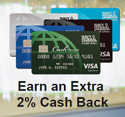 Navy Federal Credit Cards - Earn an Extra 2% Cash Back at Warehouse Clubs