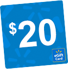 $20 Walmart eGift Card